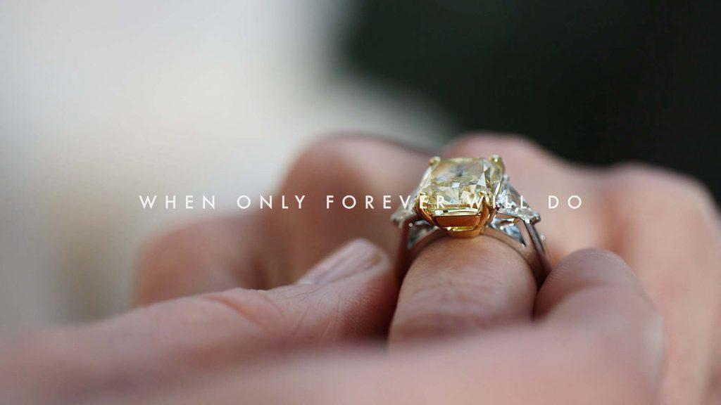 Digital advertising campaign for De Beers Jewellers