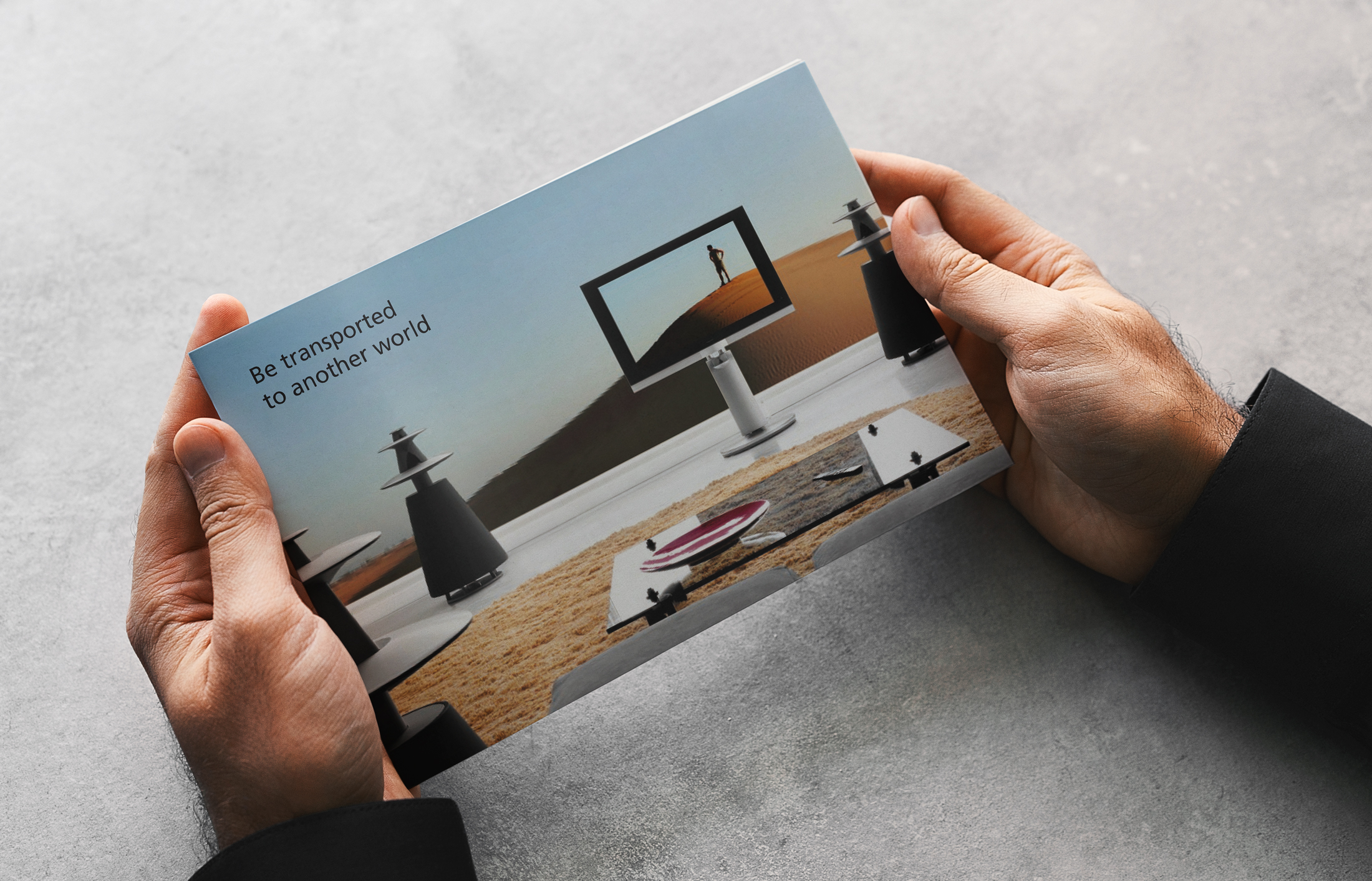 Direct mail design for Bang & Olufsen