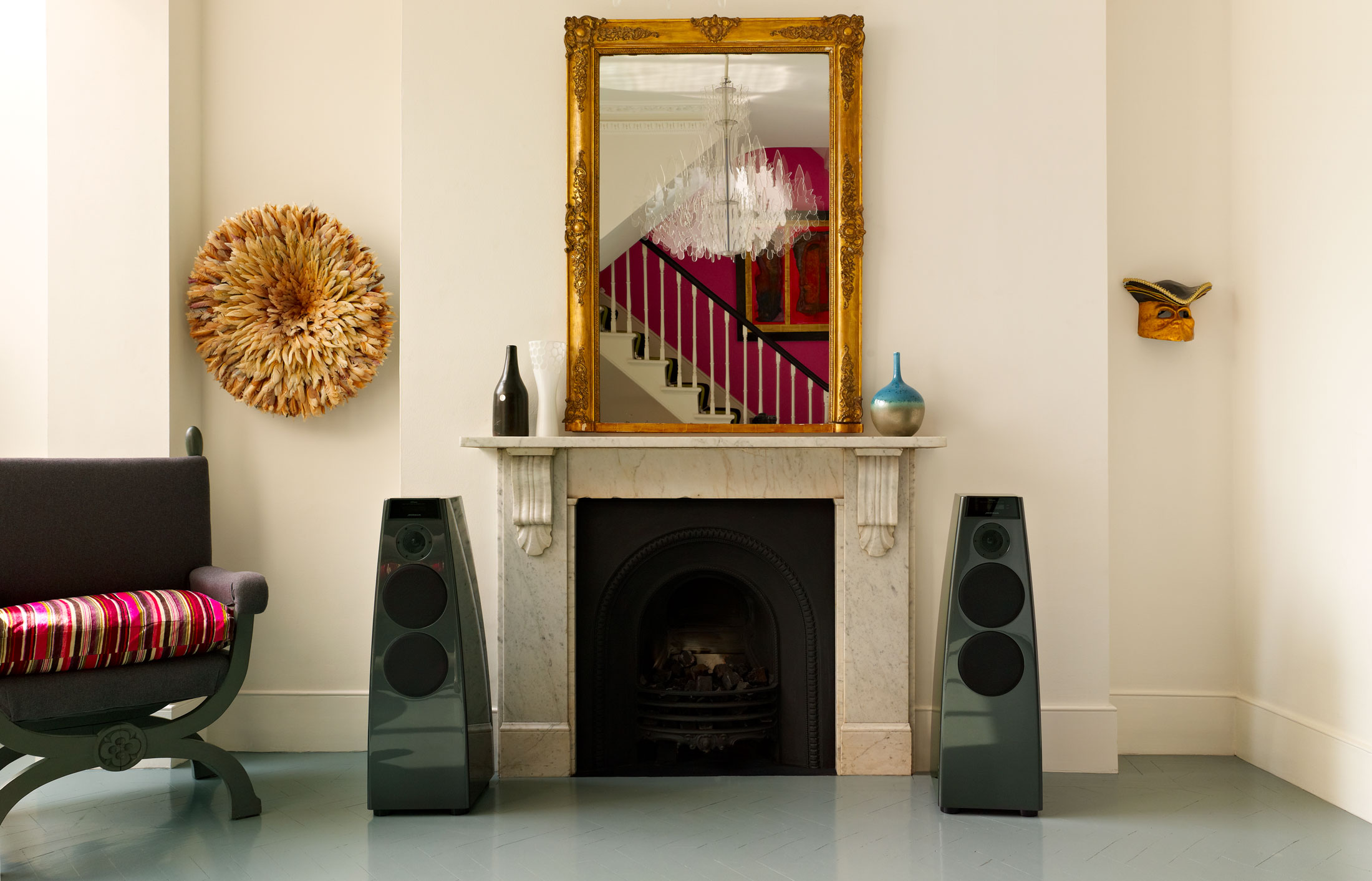 Product lifestyle photography for Meridian Audio