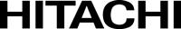 Hitachi logo black and white