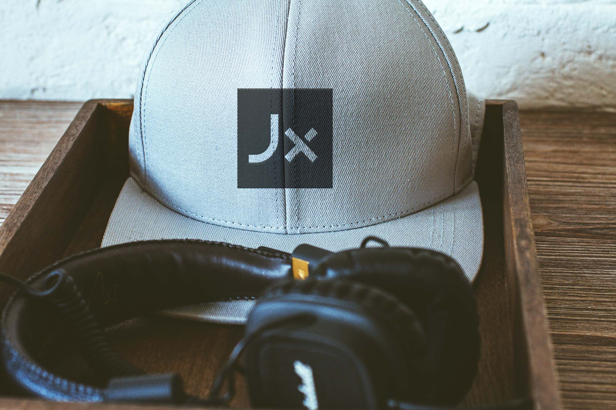 Jayeks logo on cap